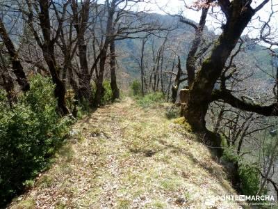 Montfalcó,Mont-rebei-Noguera Ribagorzana-Semana Santa; el salto del nervion bola del mundo hoces de